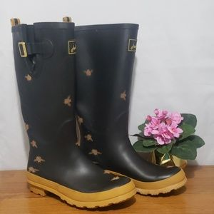 Joules bumble bee boot size 8
